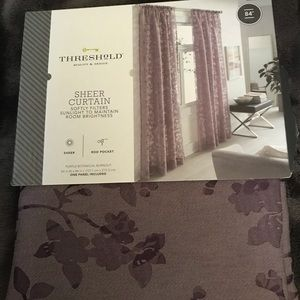 Threshold Sheer Curtain